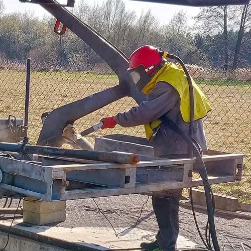 czyszczenie-rama-piaskowanie-konstrukcja-stalowa