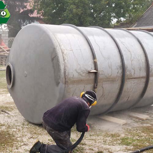Szkielkowanie-stal-nierdzewna-silos-metalowy